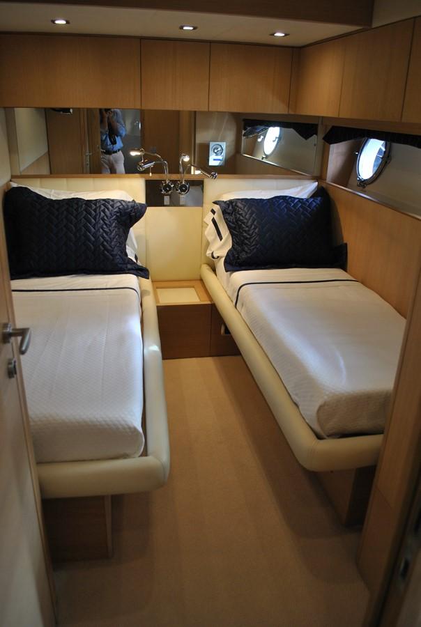 One of Two Identical Twin Staterooms 2008 AICON YACHTS  Motor Yacht 1435121
