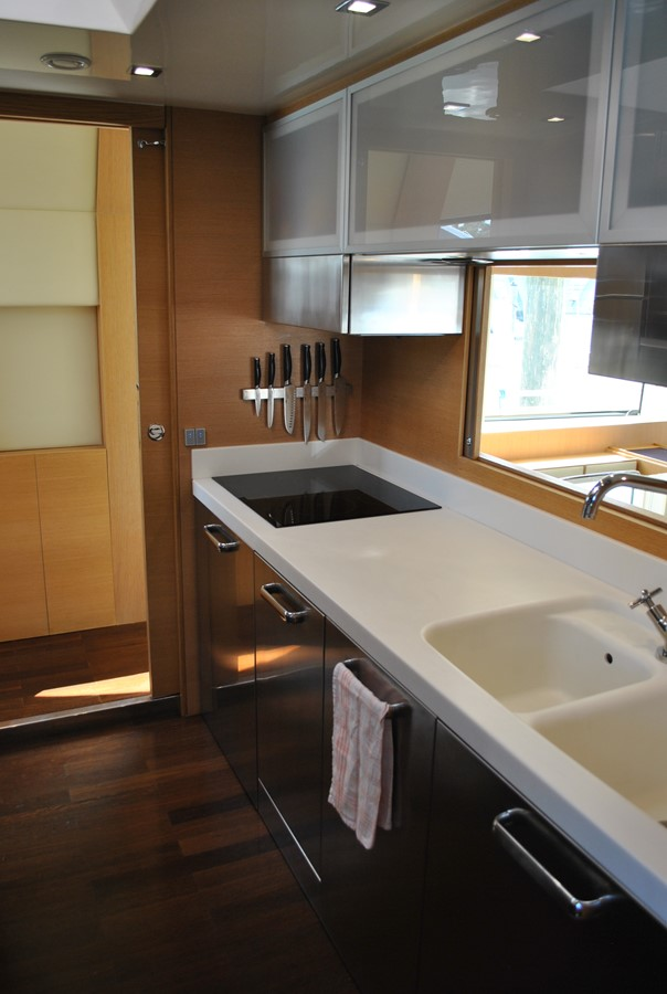 Galley View Aft 2008 AICON YACHTS  Motor Yacht 1435124
