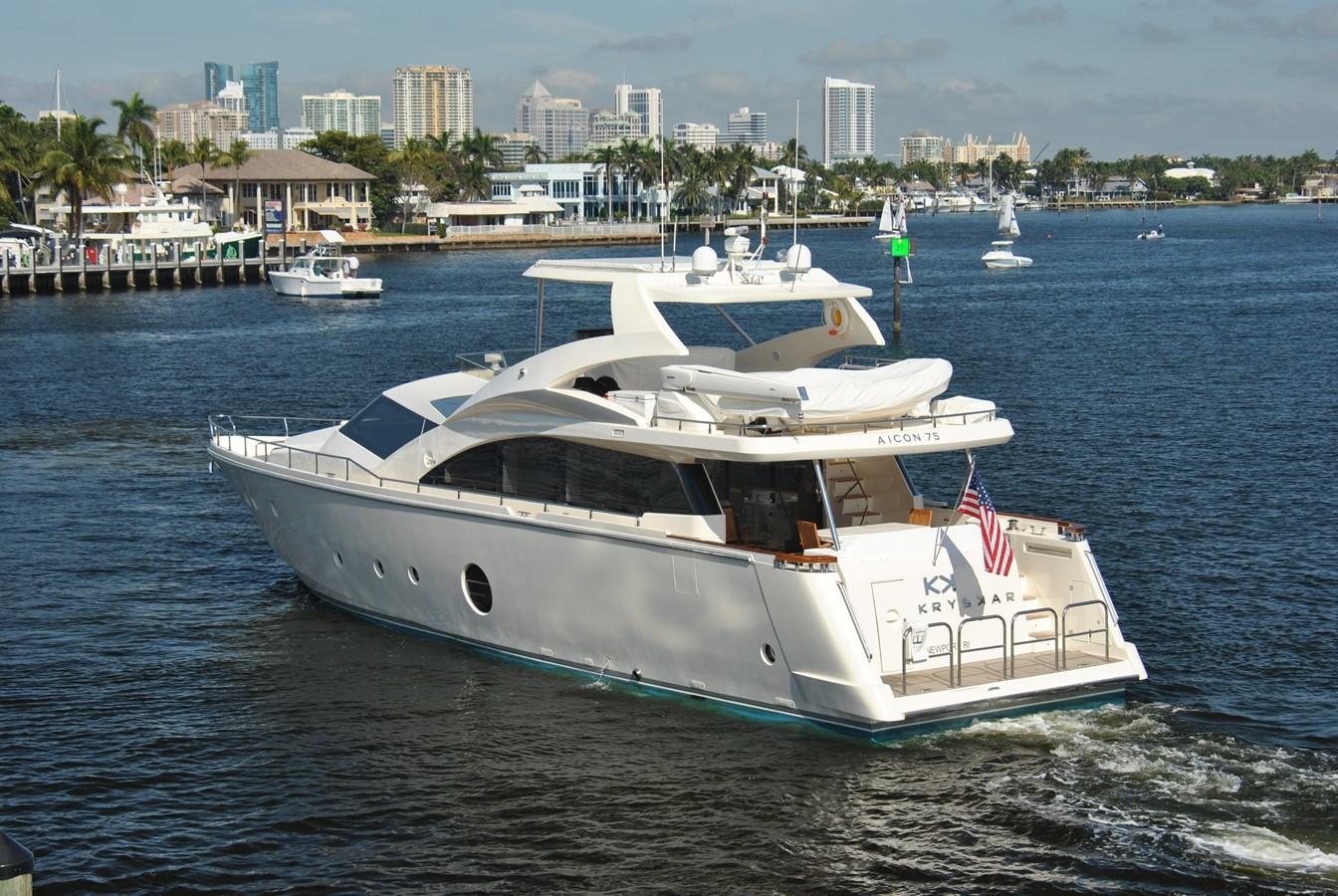 Stern Profile 2008 AICON YACHTS  Motor Yacht 1435176