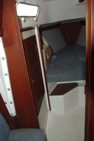 Looking aft to the forepeak 1984 TARTAN YACHTS  Aft Cockpit 1454973
