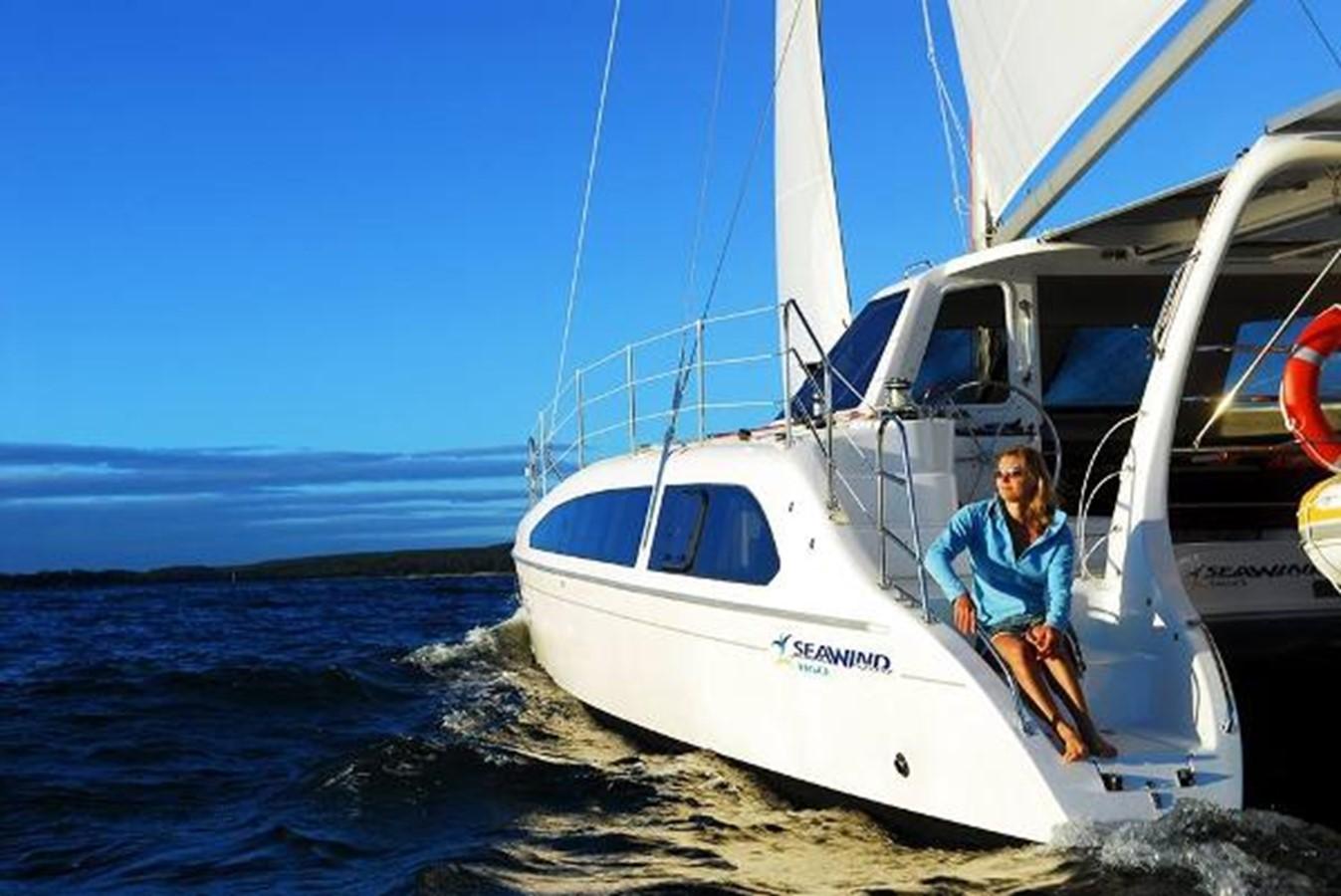 Manufacturer Provided Image: Seawind 1160 Lite Stern 2019 SEAWIND CATAMARANS 1160 Lite Catamaran 1521847