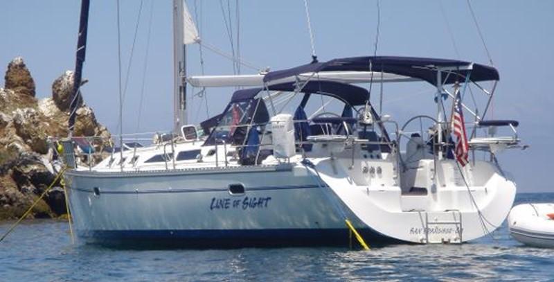 Port Side View 2002 CATALINA 400 MkII Cruising/Racing Sailboat 1525962