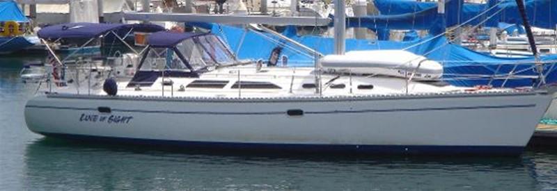 Starboard Side View 2002 CATALINA 400 MkII Cruising/Racing Sailboat 1525974