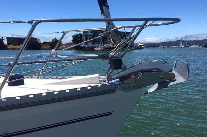 Bow View w/ Anchor 2002 CATALINA 400 MkII Cruising/Racing Sailboat 1525978