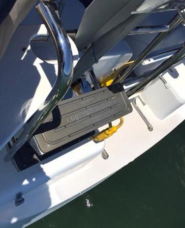 Custom Boarding Ladder 2002 CATALINA 400 MkII Cruising/Racing Sailboat 1525986