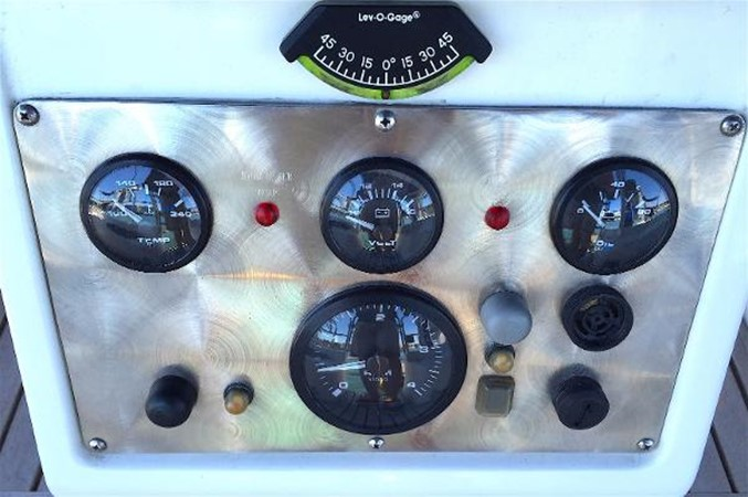 Custom Engine Instrument Panel 2002 CATALINA 400 MkII Cruising/Racing Sailboat 1525994