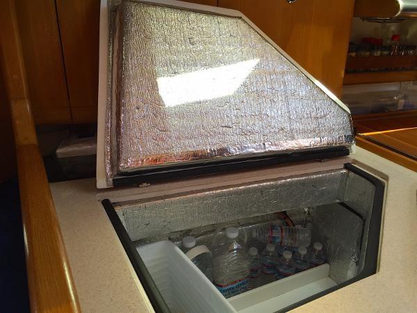 Custom Insulation on Ice Box 2002 CATALINA 400 MkII Cruising/Racing Sailboat 1526006