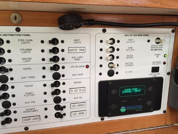 Electrical Panel #2 2002 CATALINA 400 MkII Cruising/Racing Sailboat 1526018