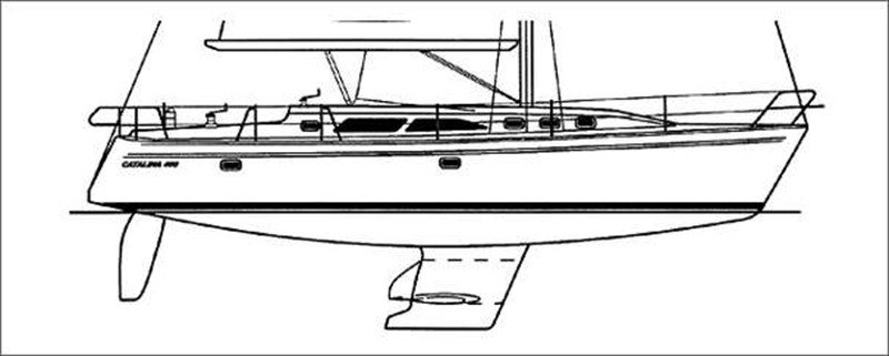 Manufacturer Provided Image 2002 CATALINA 400 MkII Cruising/Racing Sailboat 1526024
