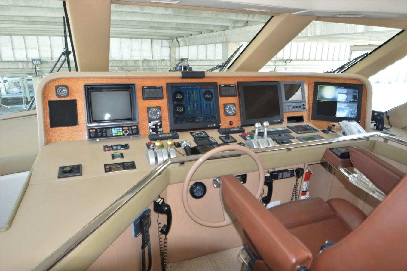 1996 HATTERAS Convertible SF w/ Skylounge Sport Fisherman 2038448
