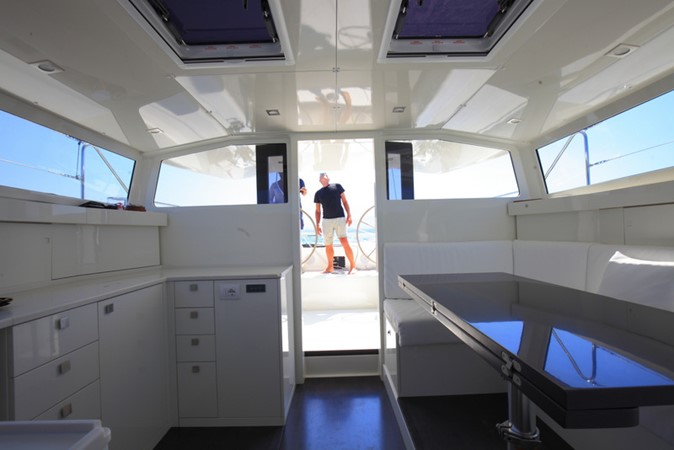 2019 Vismara Marine Service V-50 Pret a Porter Deck Saloon 1542930