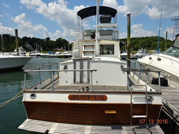 36' Grand Banks aft profile 1978 GRAND BANKS 36 Classic Trawler 1549165