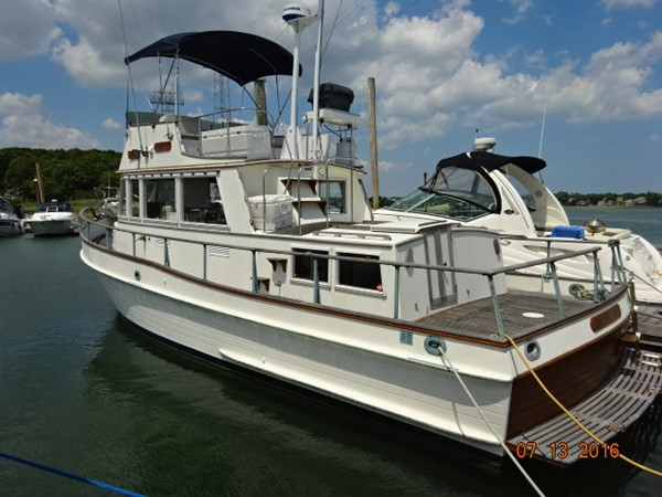 36' Grand Banks port aft profile  Previous Next  1978 GRAND BANKS 36 Classic Trawler 1549195