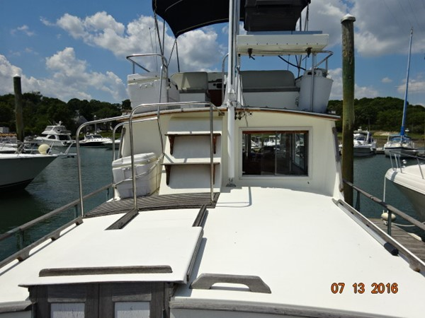 36' Grand Banks trunk cabin forward 1978 GRAND BANKS 36 Classic Trawler 1549210