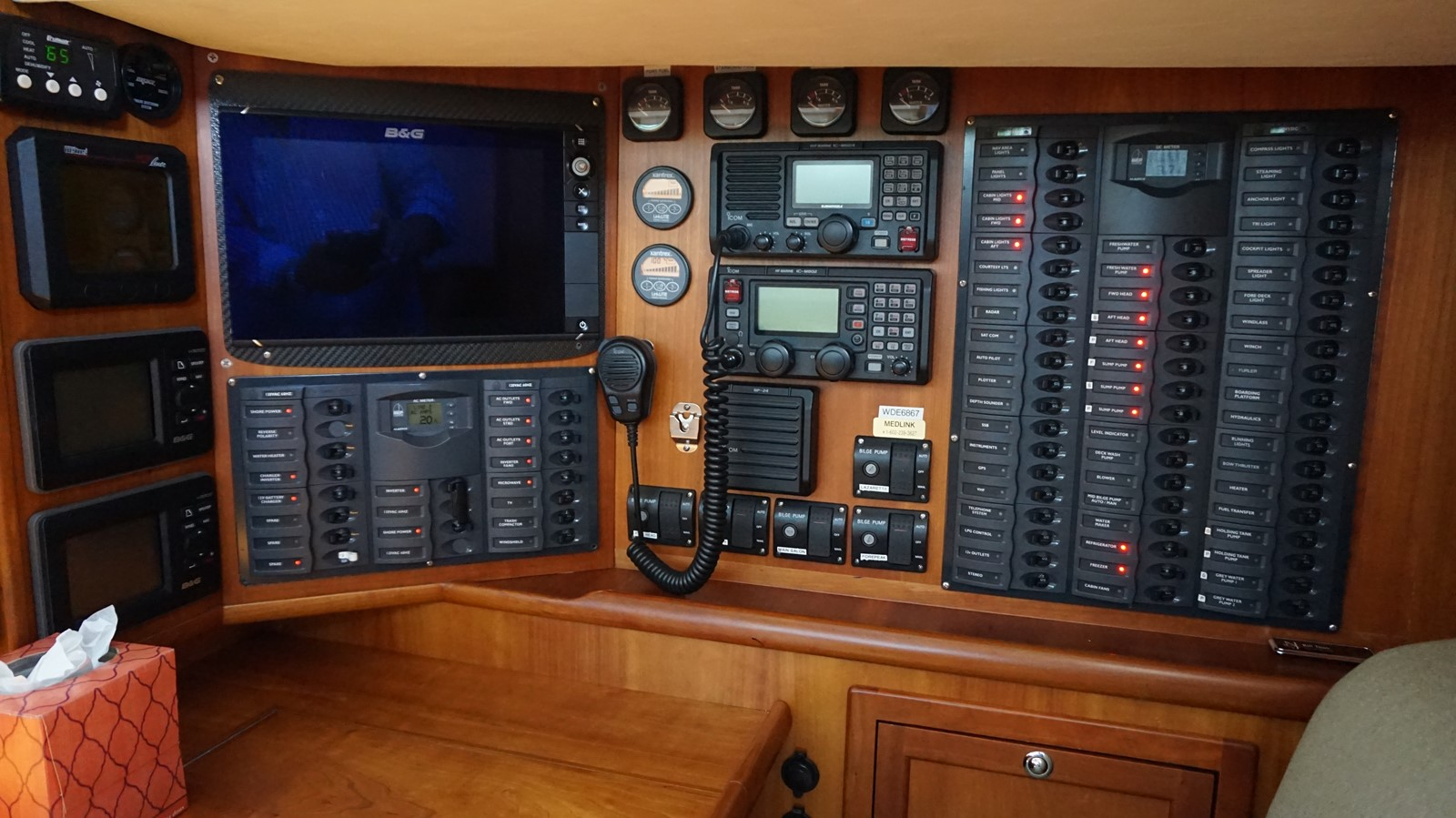 Nav station  2007 REICHEL/PUGH RP60  2439915