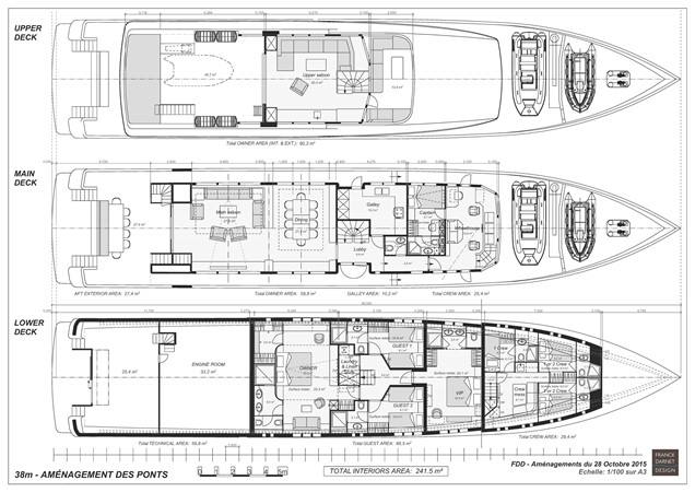 Layout 2016 OCEA FRANCE  Long Range Cruiser 1588275