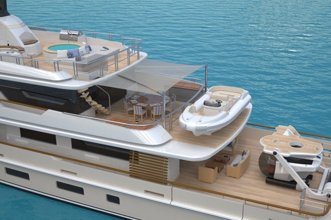 ARCANA 38M EXTERIOR 2018 JFA  Motor Yacht 1610705