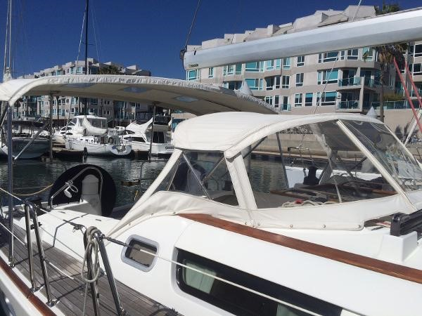 Dodger with StratoGlass 2007 JEANNEAU 42i Cruising/Racing Sailboat 1643740