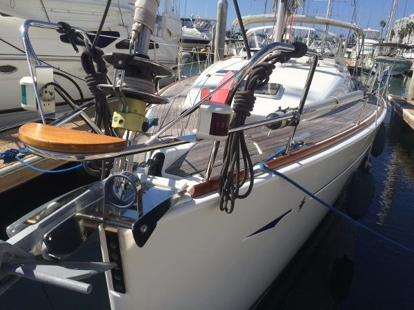 Asym Spin Rigging 2007 JEANNEAU 42i Cruising/Racing Sailboat 1643748