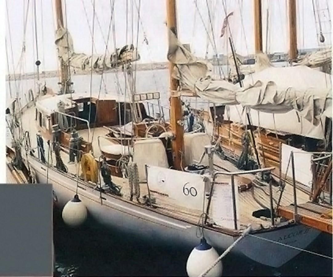 Deck view 1958 SANGERMANI  Classic Yacht 1647188