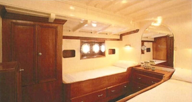 Guest cabin 1959 SANGERMANI  Classic Yacht 1647189
