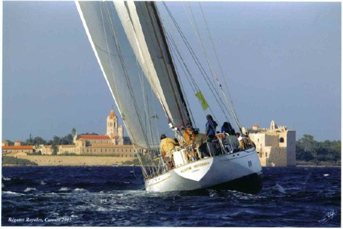 A classic in action 1959 SANGERMANI  Classic Yacht 1647195