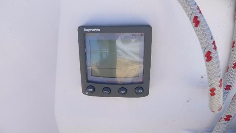 ST60 tridata 2008 HUNTER 49 Cruising Sailboat 1657170