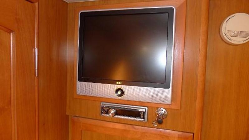 TV in forward cabin 2008 HUNTER 49 Cruising Sailboat 1657190