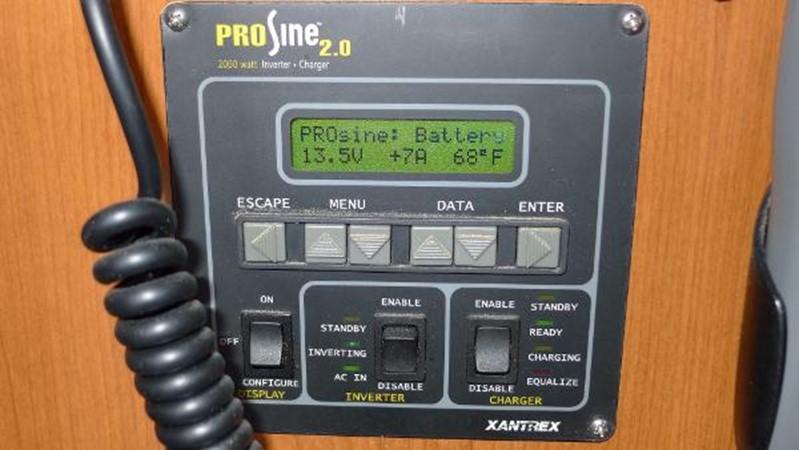 Inverter control 2008 HUNTER 49 Cruising Sailboat 1657199