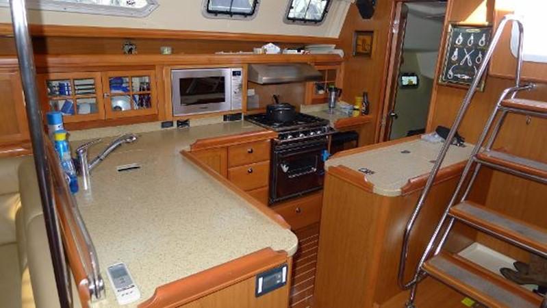 Galley 2008 HUNTER 49 Cruising Sailboat 1657203
