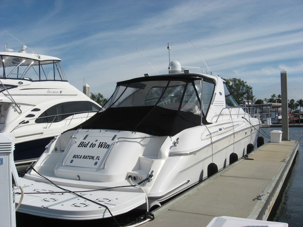 2003 SEA RAY 600 Sun Sport Express 1668704