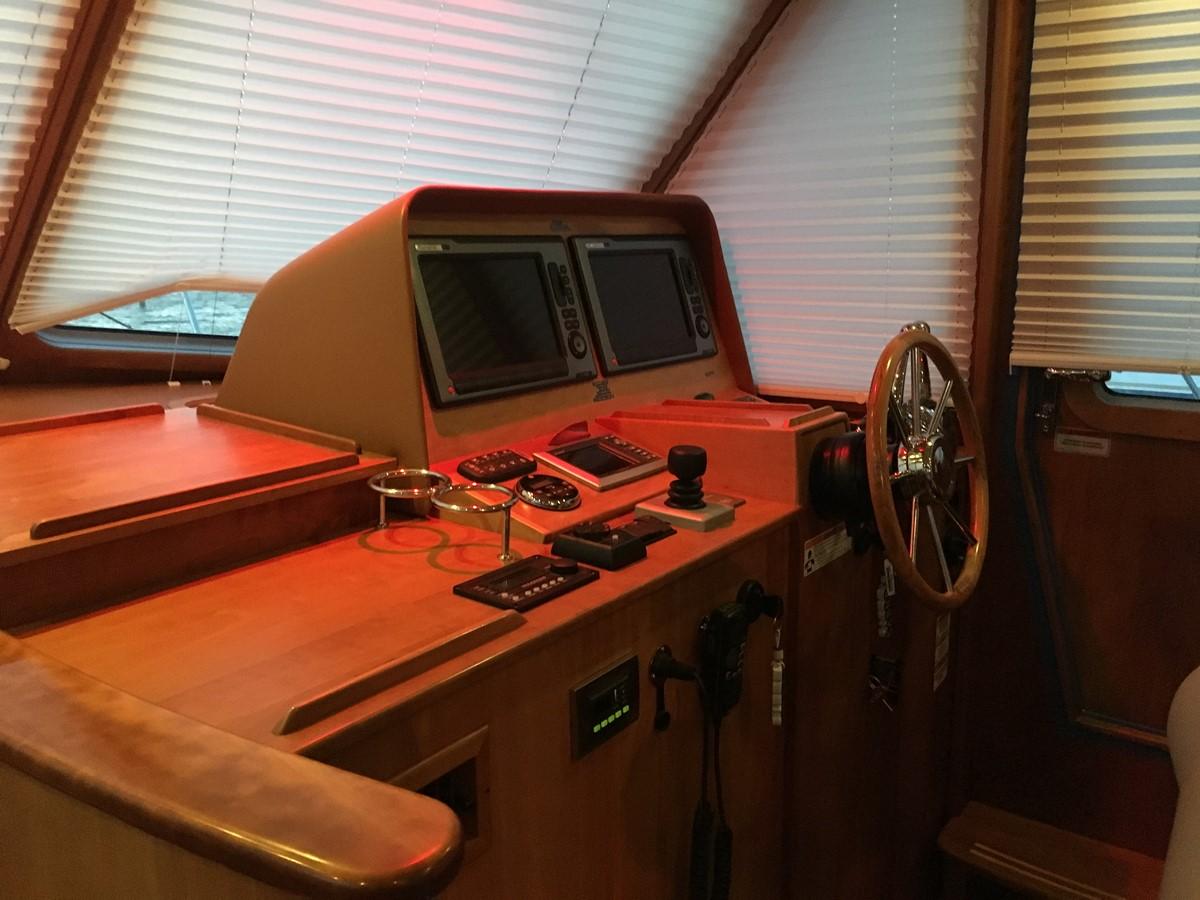 Helm w/ Door (varnish was in process) 2010 SABRE YACHTS  Motor Yacht 1670285