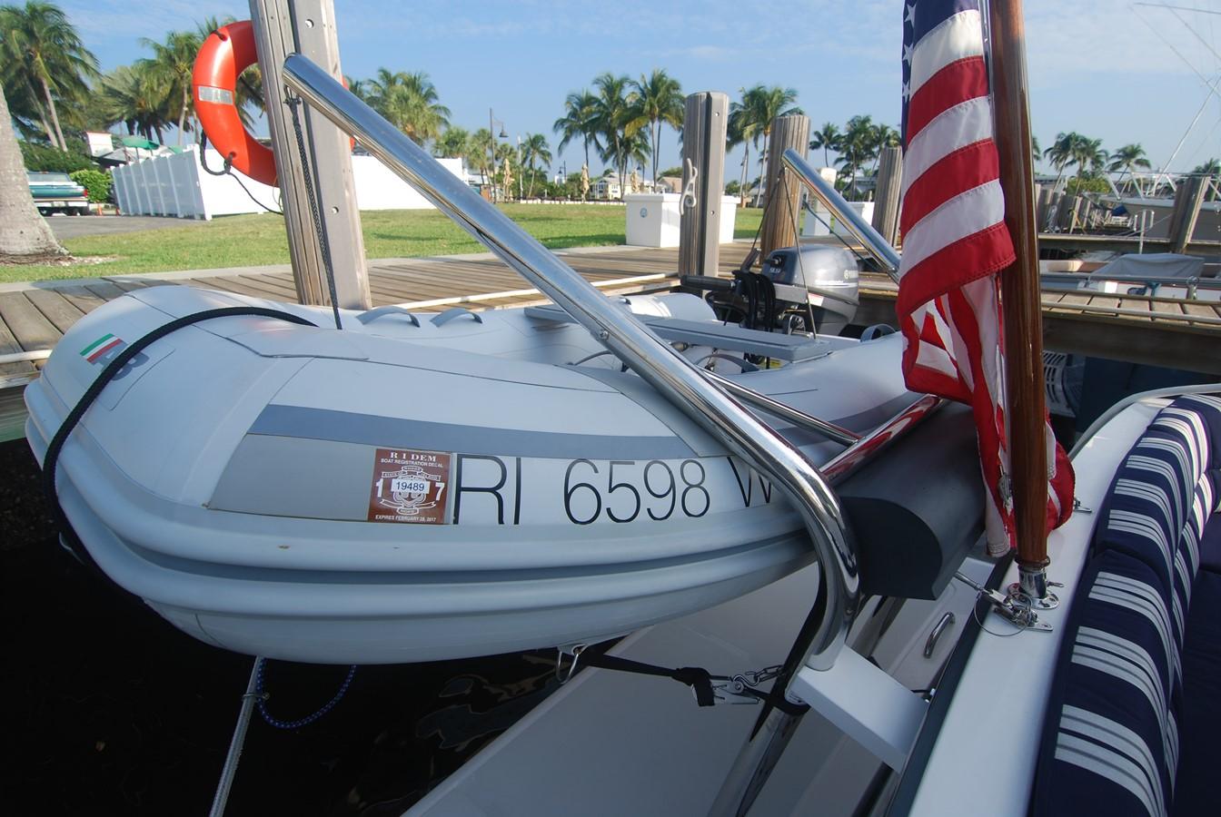 RIB in Davits & Custom Flagstaff 2010 SABRE YACHTS  Motor Yacht 1670299
