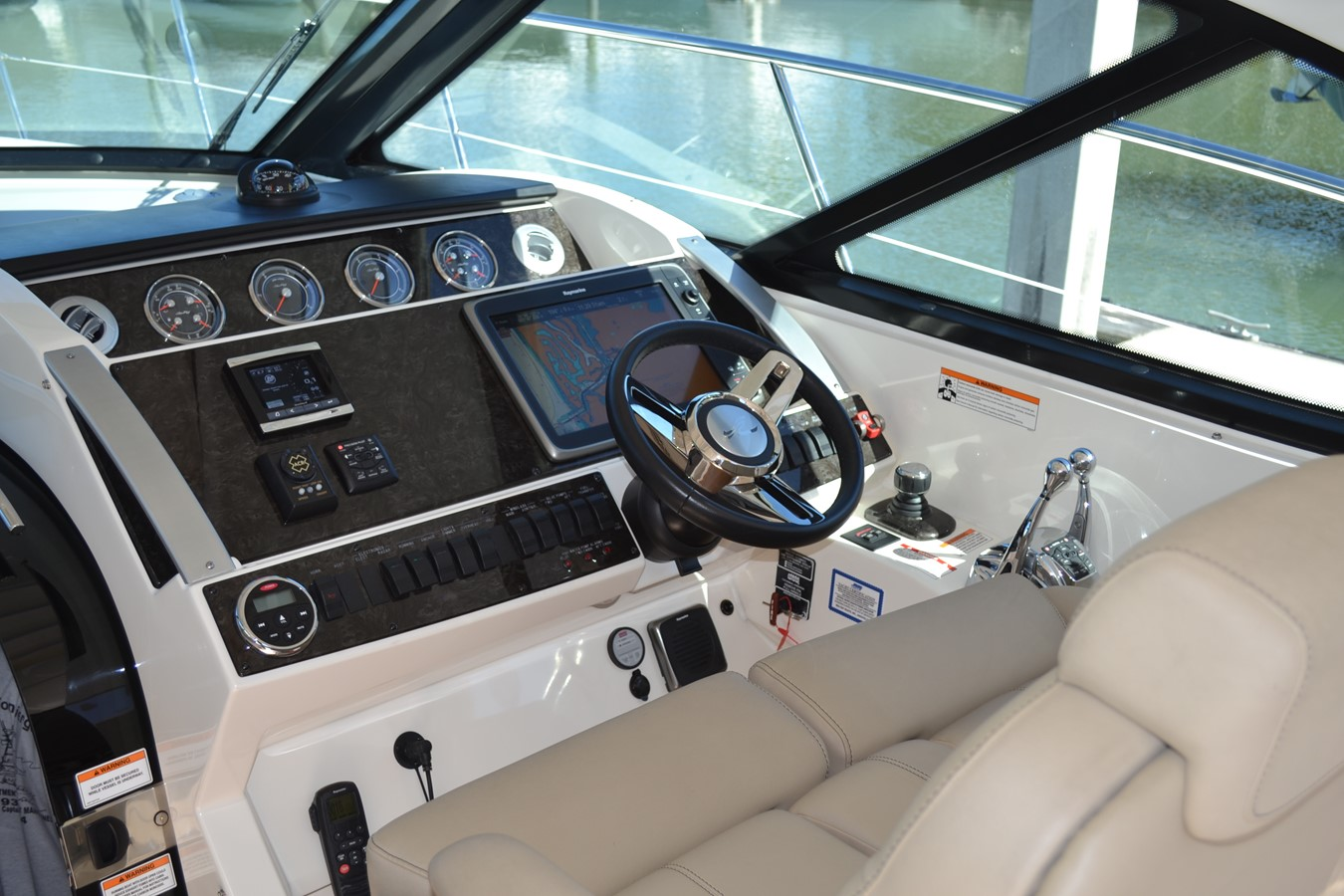 Upgraded Dash SmartCraft Diagnostic  with Glass Lenses 2015 SEA RAY 410 Sundancer Motor Yacht 1685725