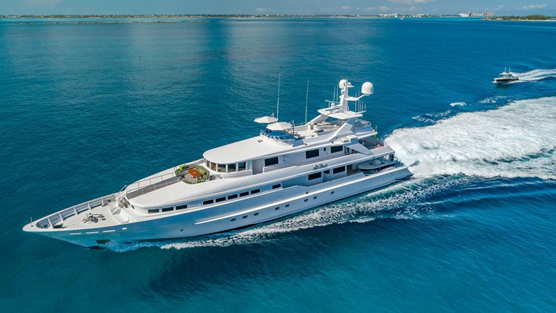 AT LAST 1990 HEESEN YACHTS Tri-Deck MLS #236768 | CYBA Yachts For Sale