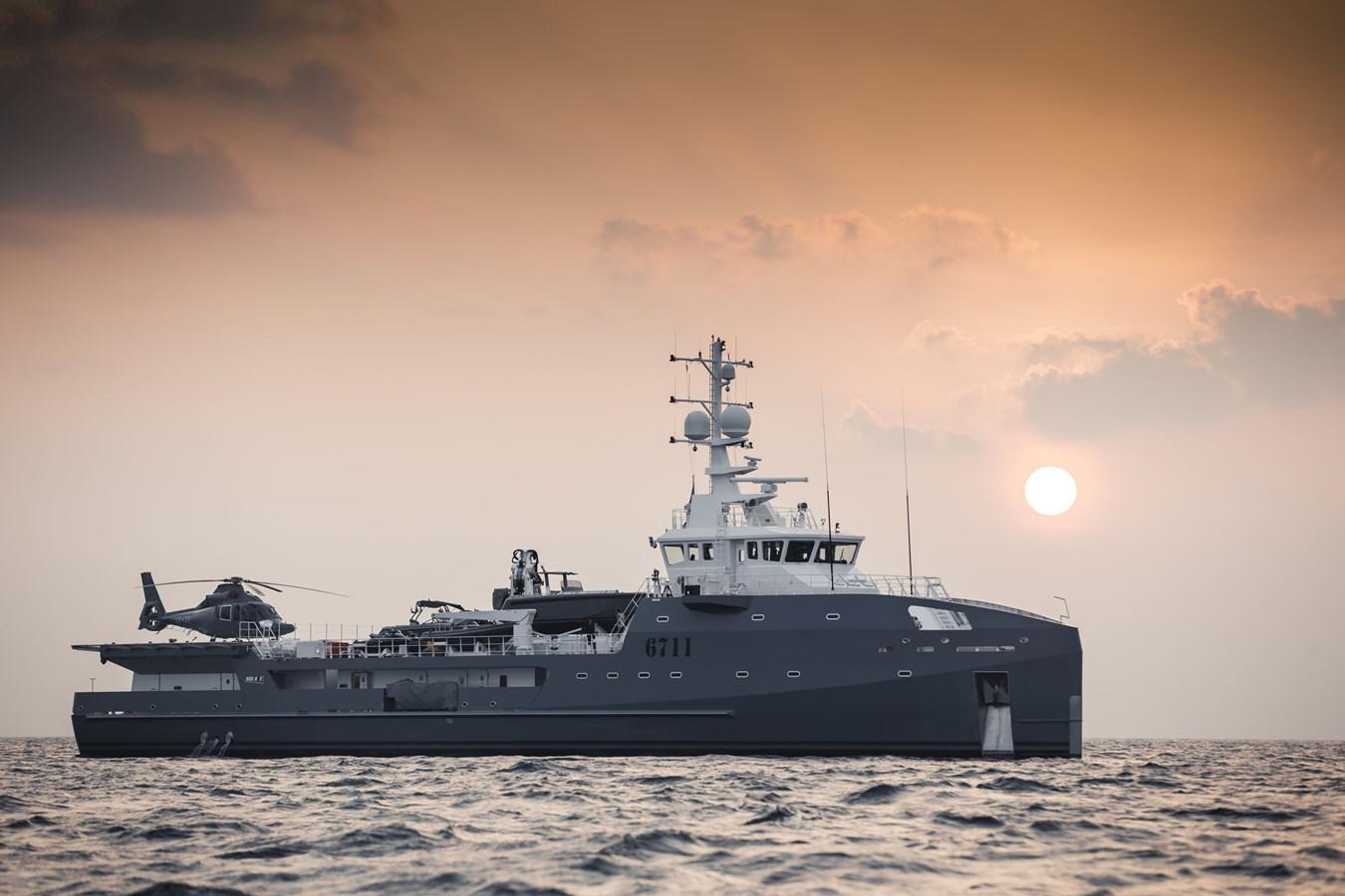 2022 DAMEN Yacht Support 6911 Mega Yacht 2339196