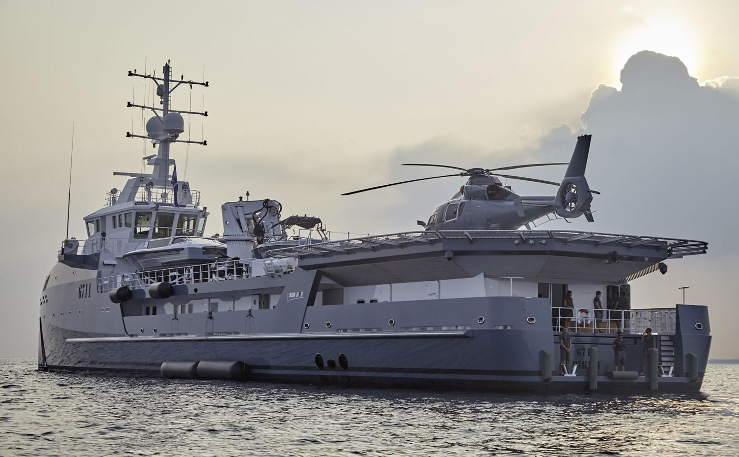 2022 DAMEN Yacht Support 6911 Mega Yacht 2339197