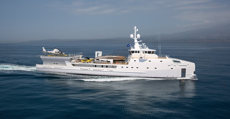 2022 DAMEN Yacht Support 6911 Mega Yacht 2339195