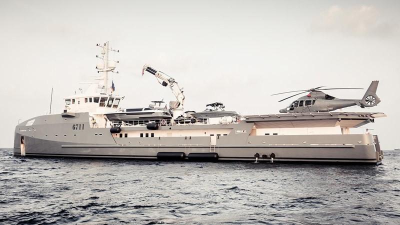 2021 DAMEN Yacht Support 6911 Mega Yacht 2339199