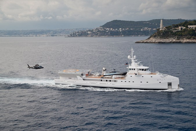 2022 DAMEN Yacht Support 6911 Mega Yacht 2339203