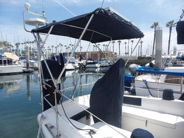 Tall Bimini 1983 CATALINA 36 Cruising Sailboat 1759773