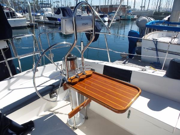 Custom cockpit table 1983 CATALINA 36 Cruising Sailboat 1759775