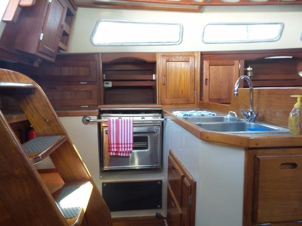 Galley 1983 CATALINA 36 Cruising Sailboat 1759788
