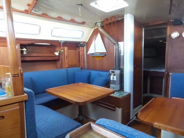 Custom dining table 1983 CATALINA 36 Cruising Sailboat 1759789