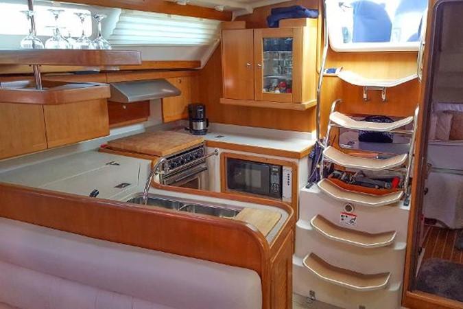 Galley & Companionway 2005 CATALINA Model 400 Cruising Sailboat 1747561