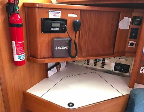Navigation station 1997 CATALINA 42 MkII Cruising Sailboat 1748771