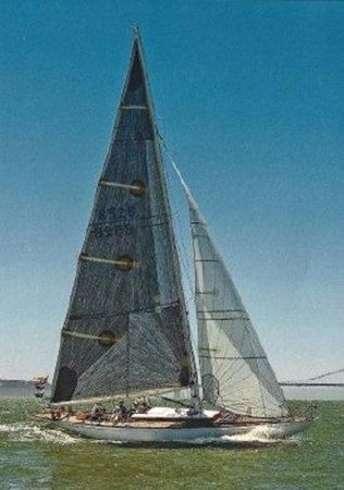 1937 Potter Design 8 Meter Classic Yacht 1756739