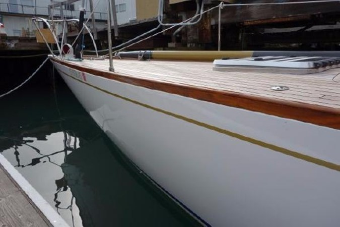1937 Potter Design 8 Meter Classic Yacht 1756775