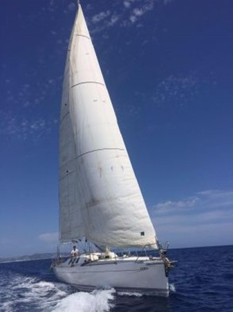 1991 CUSTOM Cruiser/Racer Henze Werft Jade X Holyk Racing Sailboat 1776377