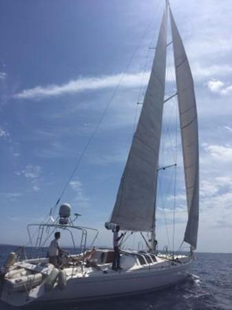 1991 CUSTOM Cruiser/Racer Henze Werft Jade X Holyk Racing Sailboat 1776386